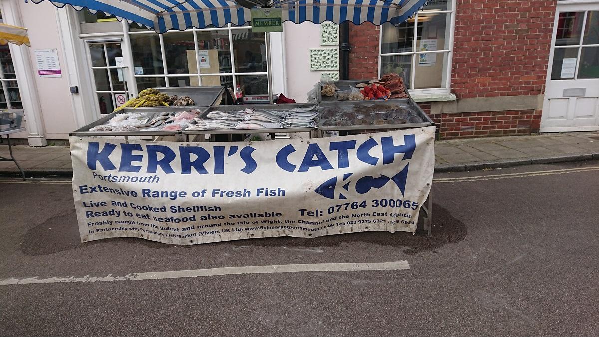 Fresh fish Hampshire Farmers Market