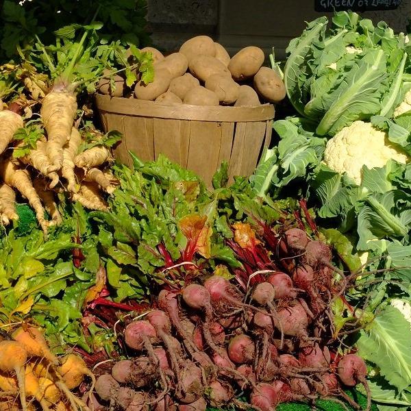 Dorset Farmers Market on the South Coast of England