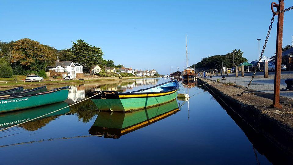 Canoe hire Bude, Cornwall, south west England
